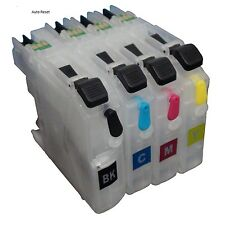 Refillable Ink Cartridges for Brother MFC J4420DW J4620DW J480DW J5320DW LC223XL