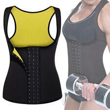 Women Hot Sweat Thermo Neoprene Body Shaper Gym Slimming Waist Trainer Bustier