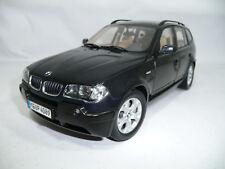 #70 BMW X3 E83 BLACKMETALLIC 1:18 KYOSHO DEALER VERY RARE