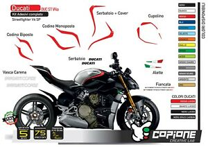 Graphic Complete Compatible DUCATI Corse Panigale Streetfighter V4 Sp 2020
