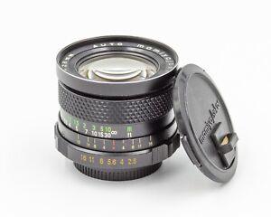 Mamiya Sekor SX 28mm f/2.8 Wide Angle Prime Lens M42 Pentax Screw Mount