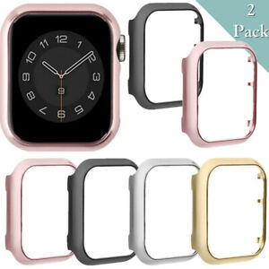 2PCS Watch Protective Case Cover For Apple Watch Series1 2 3 4 5 6/38 40 42 44mm