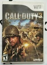 Call of Duty 3 For Wii 2006 Complete Very Good