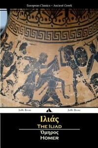 The Iliad (Ancient Greek), Brand New, Free P&P in the UK