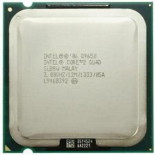 Intel Core 2 Quad Q9650  (12M Cache, 3.00 GHz, 1333 FSB) Socket 775