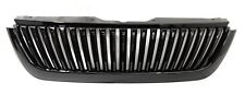 02 05 Ford Explorer Vertical X Style Gloss Black Front Hood Bumper Grill Grille