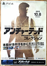 Uncharted Collection RARE PS4 51.5 cm x 73 Japanese Promo Poster