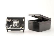 Mamiya 220/120 Film Insert + Case Mamiya M645 1000s J 645E 645 Super Pro Pro TL