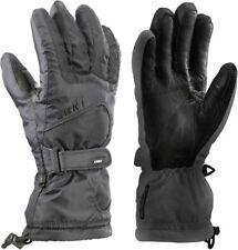 New listing New $125 Leki Womens Stripes Goatskin Leather Trigger S Goretex Ski Gloves Black