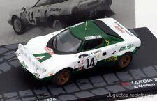 1/43 LANCIA STRATOS MUNARI 1975 RALLY MONTECARLO IXO  EAGLEMOSS DIECAST