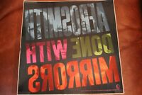 "Aerosmith ""Done With Mirrors"" 1985 Promo Poster Album Flat"