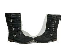 Genuine Ugg Women's 1001833 Tatum Boots Black 8