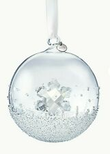 Swarovski Crystal Limited Edition 2019 Christmas Ball Ornament, Brand New, Box