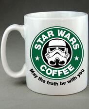 Star Wars Starbucks Stormtrooper Drôle Blague porcelaine Cadeau Nouveauté Cadeau D'anniversaire