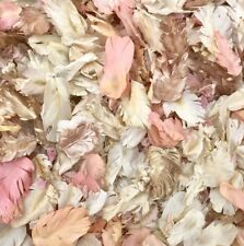 Flutterfall® Ivory, Gold & Coral Biodegradable Wedding Confetti Petals 1L