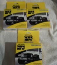 (3) wipe new auto (trim restore Faded bumper and trim restorer) bumpers plastic