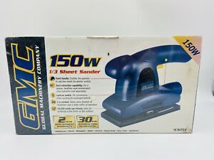 GMC 150 Watt 1/3 Sheet Sander Blue Brand New & Sealed Tools Trade