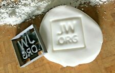 JW.ORG Cookie Cutter / Embossing Stamp / Fondant / Icing