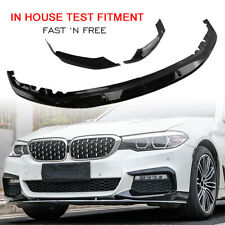 Front Bumper Spoiler Lip For 2017-2020 BMW G30 M Tech M Sport M Performance AM