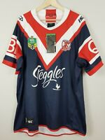SYDNEY ROOSTERS ISC Mens Size 3XL 2018  Rugby League Jersey NEW