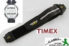 Timex braccialetto di ricambio t5f251 Ironman Triathlon Flix 30 Lap - 24 mm nastro di velcro