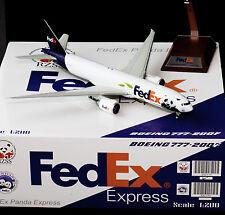 """Fedex B777-200F Reg: N892FD """"PANDA RZSS"""" JC Wings 1:200 Diecast Models XX2579"""