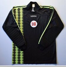 4/5 Norway 1993~1994 Adidas Football Jersey Shirt Goalkeeper Long Sleeve