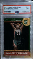 2013-14 Panini NBA CHINA GIANNIS ANTETOKOUNMPO #147 ROOKIE RC PSA 9 MINT BUCKS