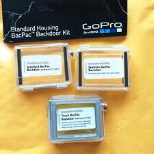 GoPro HERO3+Standard,Skeleton and Touch BacPac Housing Backdoor Kit ASDRK-301