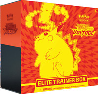 Vivid Voltage Elite Trainer Box Pokemon Sword & Shield SWSH4 (8 Booster Packs)