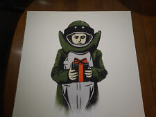DOLK - BOMBSUIT - SCREEN PRINT - 2012 - SIGNED AND NUMBERED - ART PRINT