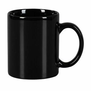 Tea Coffee Porcelain Mugs  Plain Black 300ml Mug Cup