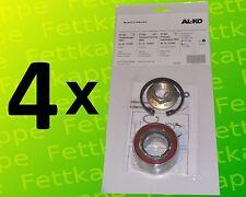 4x ALKO Radlager 1224801 Lager 64/34x37 mm + Zubehör - Kompaktlager Ecolager