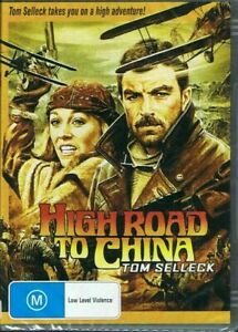 HIGH ROAD TO CHINA DVD 1983 NEW Region 4 Tom Selleck, Bess Armstrong WWI PILOT
