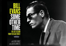 """Reproduction """"Bill Evans - Some Other Time"""" Poster, Jazz, Vintage Print"""