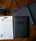 Kindle Paperwhite 18th Edition WiFi + 3G w/cover, cord, and protect film Bundle