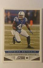NFL Trading Card Antoine Bethea Indianapolis Colts Score 2013 Panini
