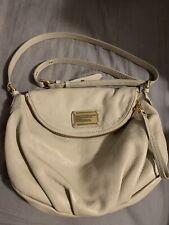 Marc By Marc Jacobs Classic Q Original Natasha Cream Leather Crossbody Bag