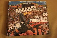 Kabanos - Przystanek Woodstock 2013 CD+DVD POLISH RELEASE