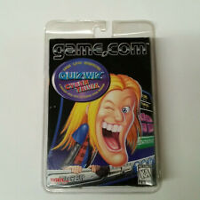Quiz Wiz Cyber Trivia - Tiger Electronics Game.Com - Factory Sealed
