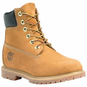 Women's Timberland 6-Inch Classic Premium Waterproof Boots Wheat 10361
