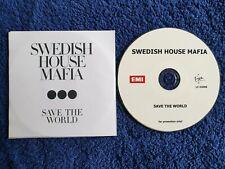 Swedish House Mafia Acetate Promo CD Save The World