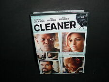 Cleaner DVD Movie Samuel L Jackson Ed Harris Eva Mendes