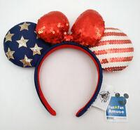 Minnie Ears Disney Parks Candy Cane Cutie Mickey Mouse Lollipop Sequins Headband