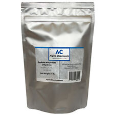 1 Pound - Sodium Molybdate - 39.5% Mo - >99% Pure