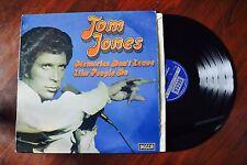 Tom Jones Memories Don't Leave Like People Do UK Import Decca Record lp NM