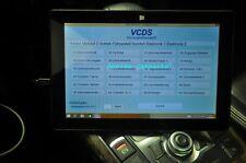 VCDS VAG-COM HEX V2 Ross-Tech Diagnose Tester VCDSpro + 10 Zoll Tablet PC
