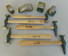 Vtg. Craftsman 9 Piece Auto Body Repair Set No. 45611 Hammers & Dollies