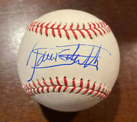 DANTE BICHETTE Signed Baseball COLORADO ROCKIES Autographed ROMLB Ball