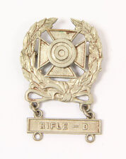 "Prix de tir US WW2  ""expert badge"" (matériel original)"